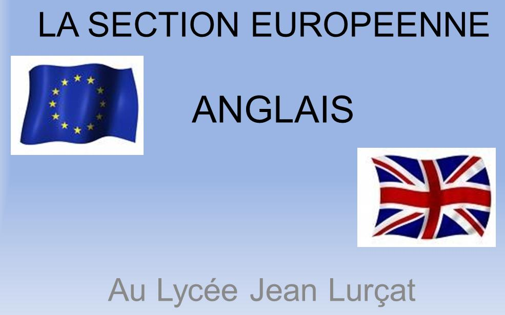 Section euro anglais