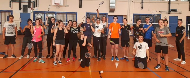Le Badminton à l'Association Sportive